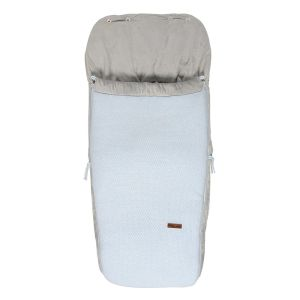 Footmuff buggy Classic powder blue