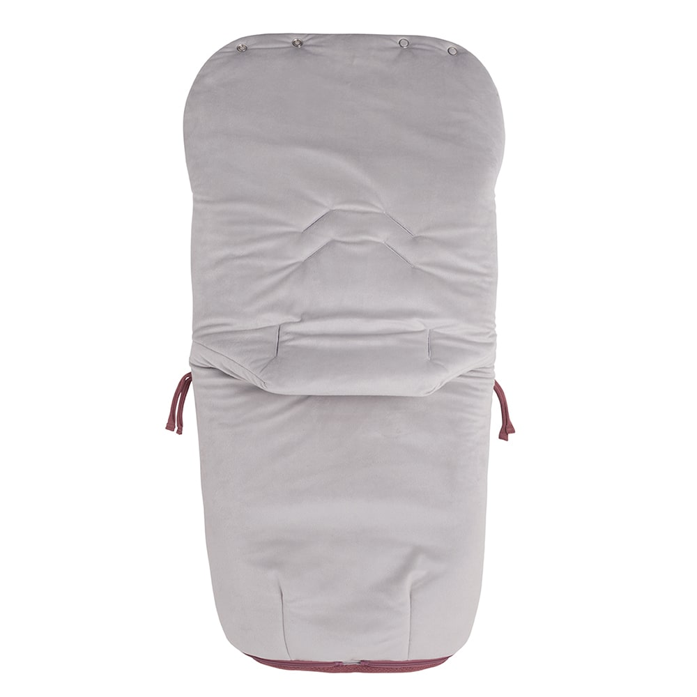 footmuff buggy classic stone red
