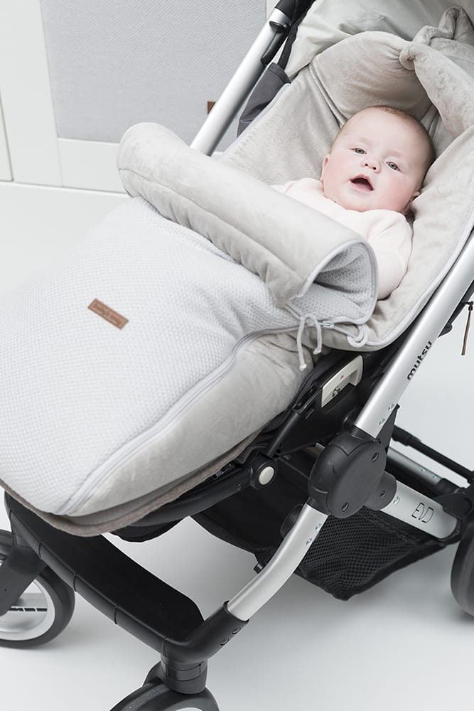 footmuff buggy classic woolwhite
