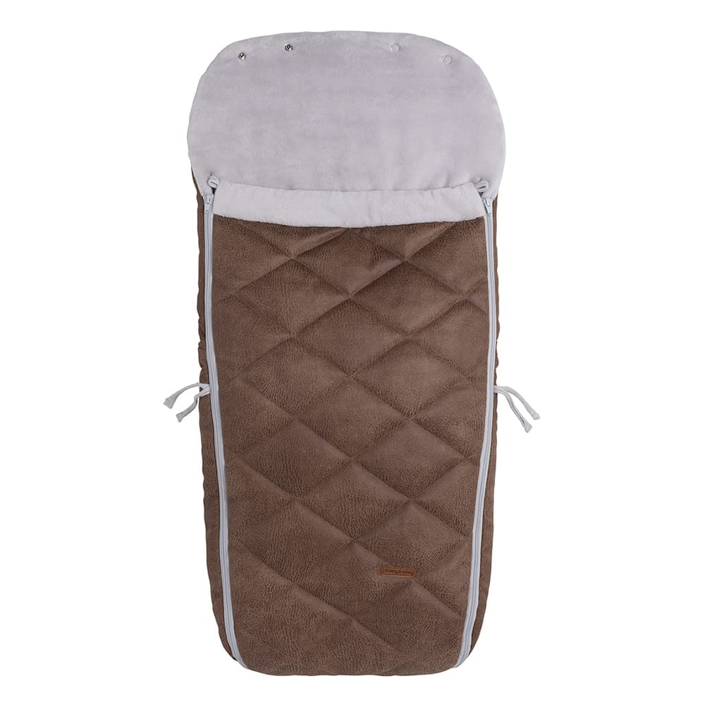 footmuff buggy rock taupe