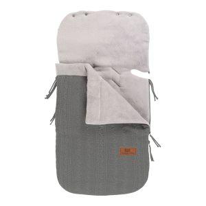 Footmuff car seat 0+ Cable grey