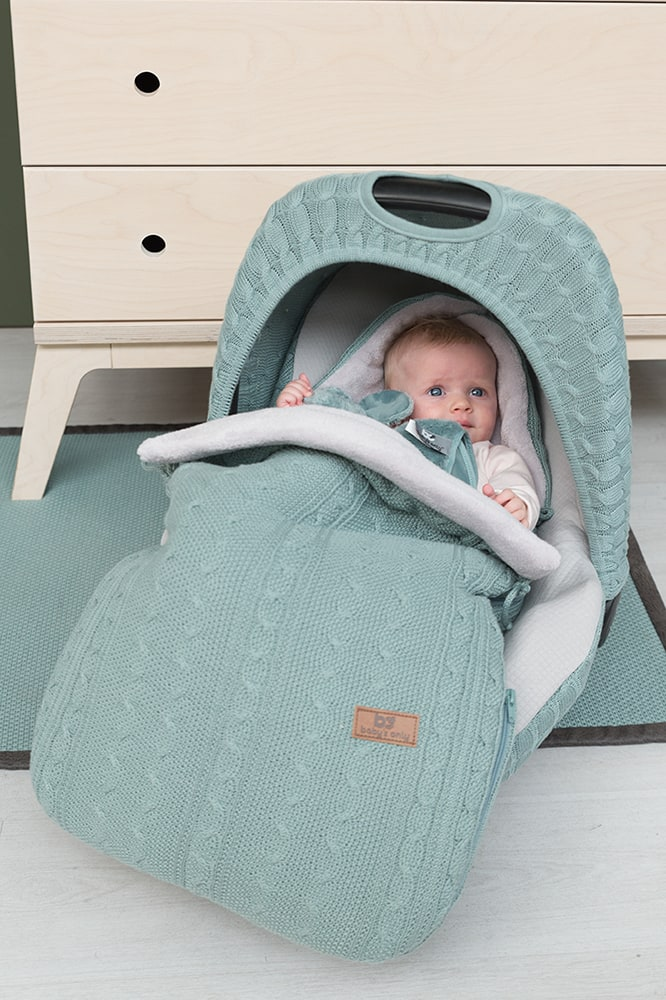 footmuff car seat 0 cable stonegreen