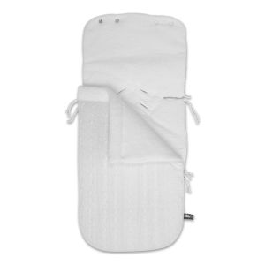 Footmuff car seat 0+ Cable white