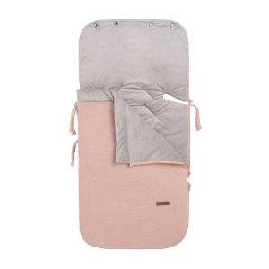 Footmuff car seat 0+ Classic blush