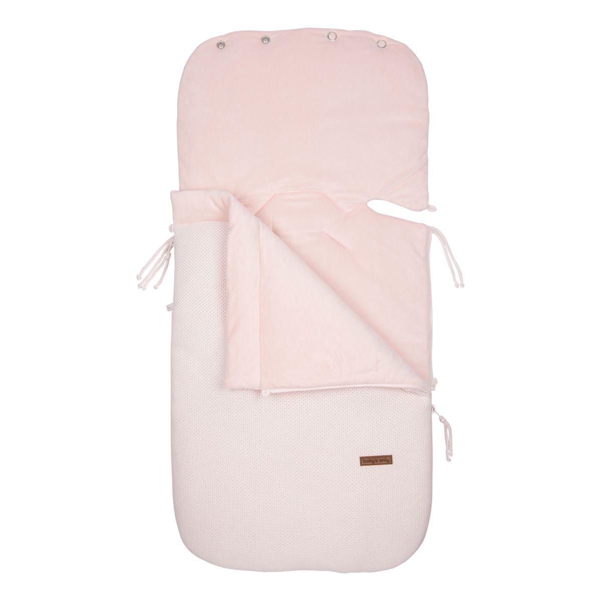 footmuff car seat 0 classic pink