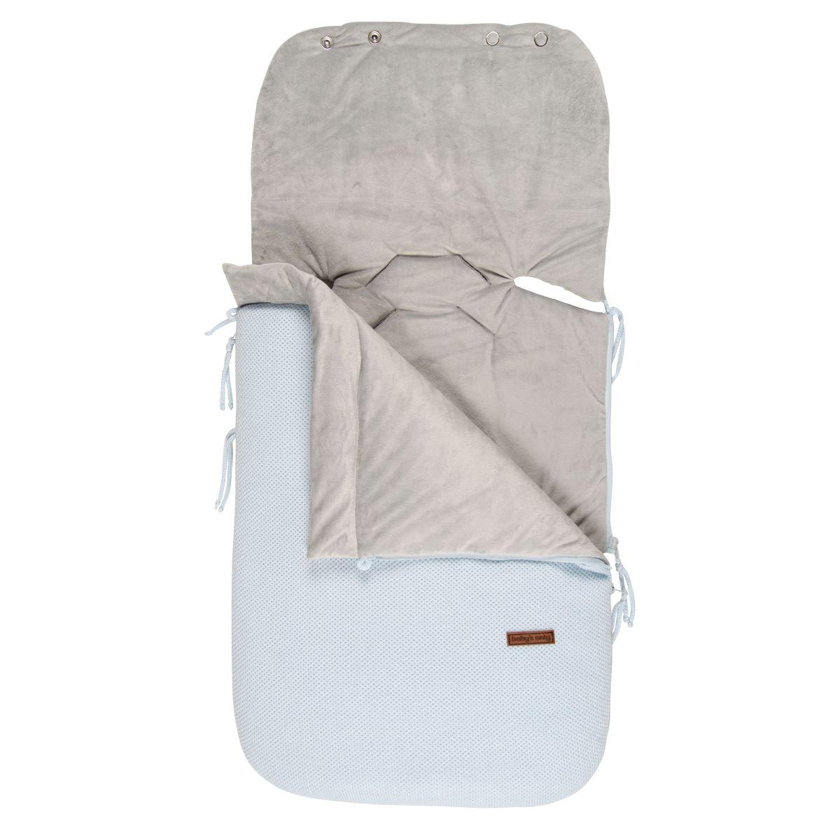 footmuff car seat 0 classic powder blue