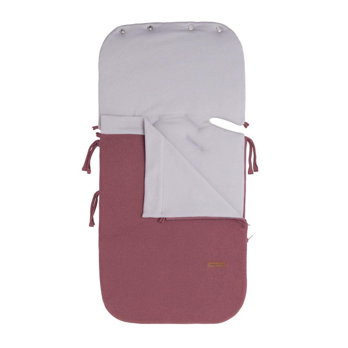 footmuff car seat 0 classic stone red