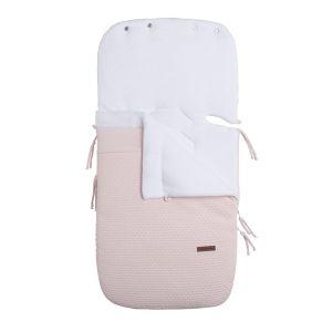Footmuff car seat 0+ Cloud classic pink