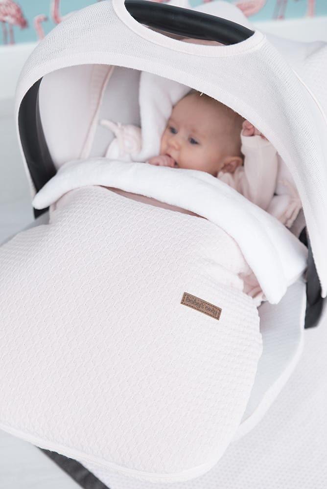 footmuff car seat 0 cloud classic pink