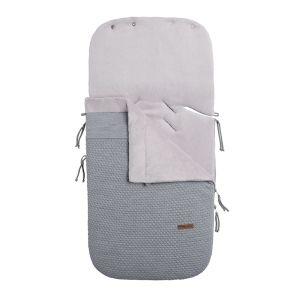 Footmuff car seat 0+ Cloud grey