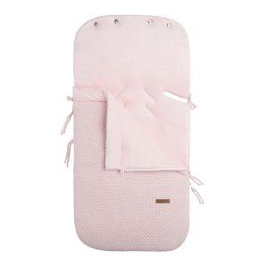 Footmuff car seat 0+ Flavor classic pink