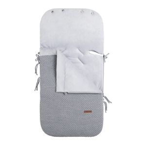 Footmuff car seat 0+ Flavor grey