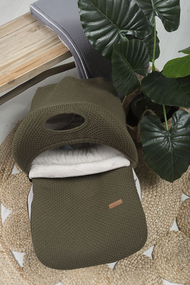 footmuff car seat 0 flavor stonegreen