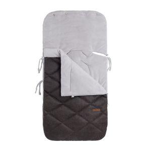 Footmuff car seat 0+ Rock anthracite