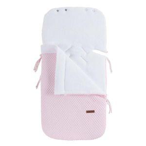 Footmuff car seat 0+ Sun classic pink/baby pink