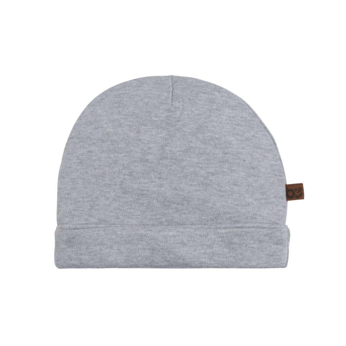 hat melange grey 03 months