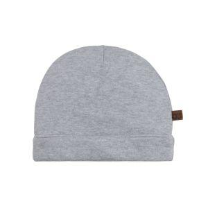Hat Melange grey - 0-3 months