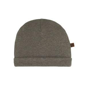Hat Melange khaki - 0-3 months