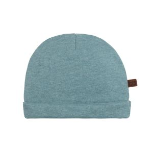 Hat Melange stonegreen - 0-6 months