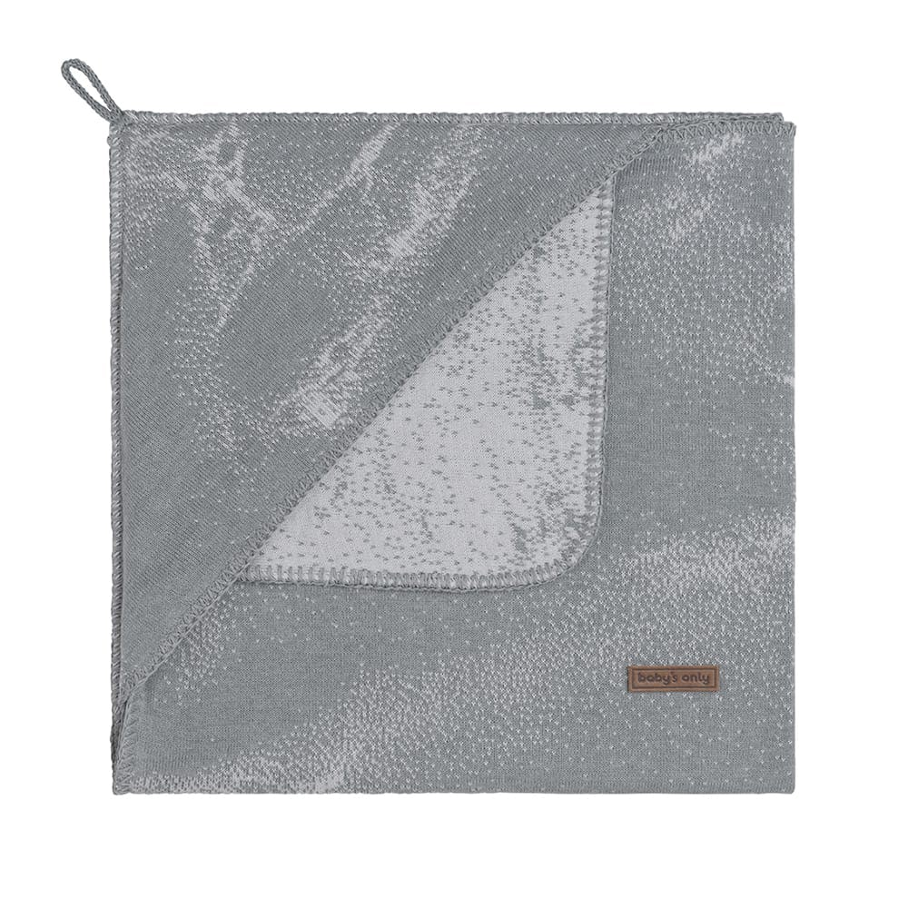 hooded baby blanket marble greysilvergrey