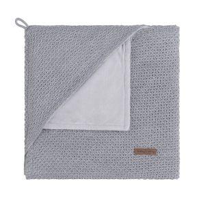 Hooded baby blanket soft Flavor grey