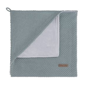 Hooded baby blanket soft Flavor stonegreen