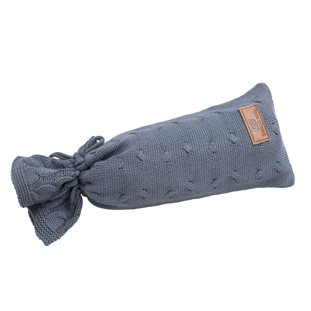 hot water bottle cover cable granit