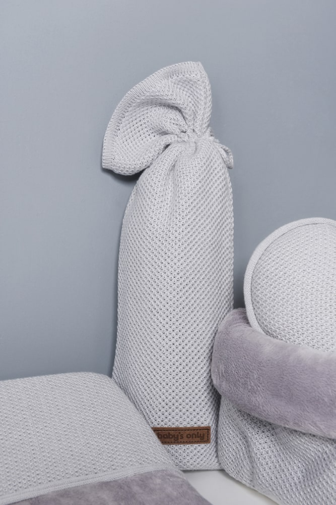 hot water bottle cover classic blush