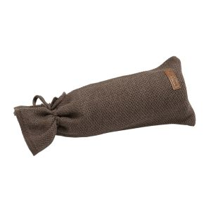 Hot water bottle cover Classic cacao