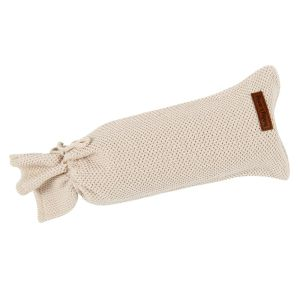 Hot water bottle cover Classic sand