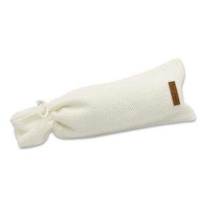 Hot water bottle cover Classic woolwhite