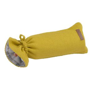 Hot water bottle cover Forest mustard