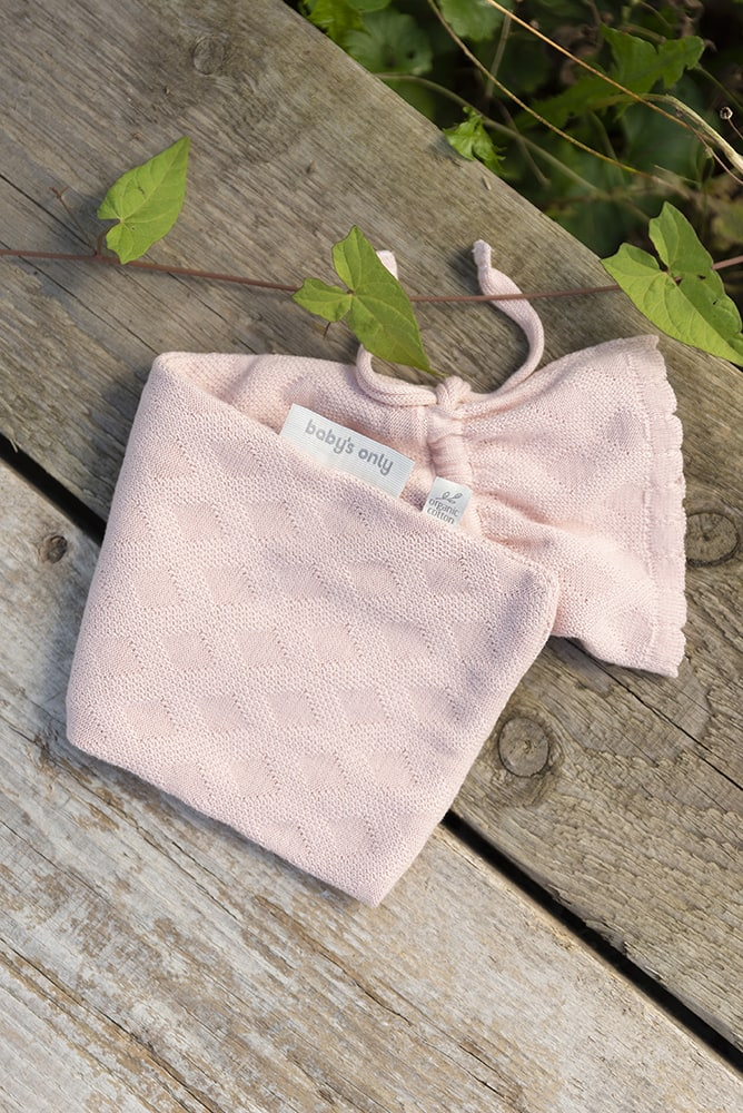 hot water bottle cover reef misty pink