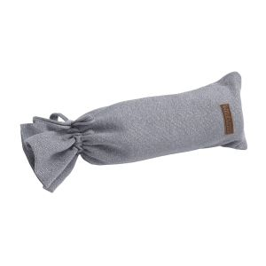 Hot water bottle cover Sparkle silver-grey melee
