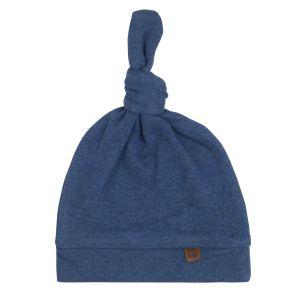 Knotted hat Melange jeans - 3-6 months