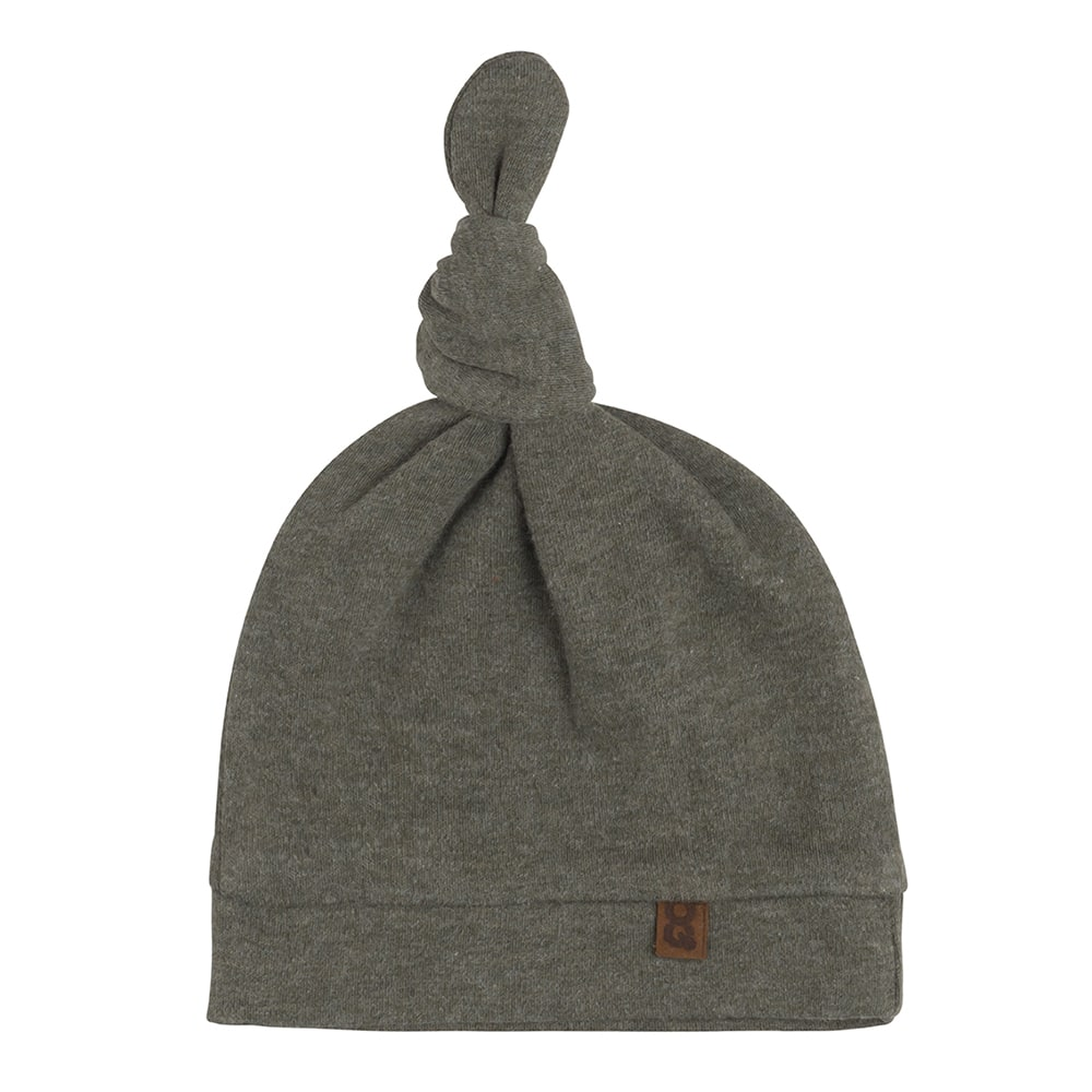 knotted hat melange khaki 03 months