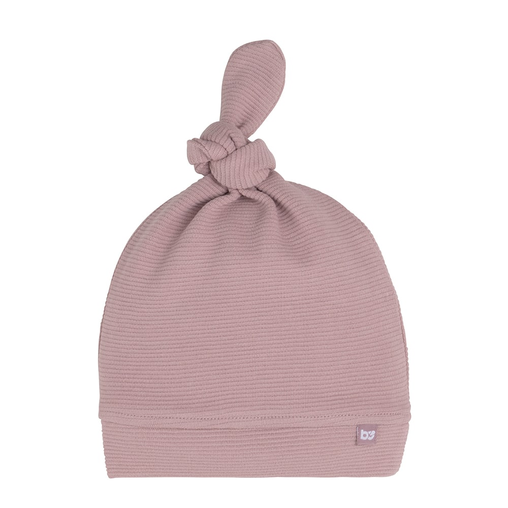 knotted hat pure old pink 03 months