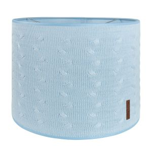 Lampshade Cable baby blue - Ø30 cm