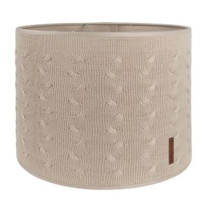 Lampshade Cable beige - Ø30 cm