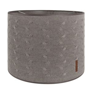 Lampshade Cable taupe - Ø30 cm
