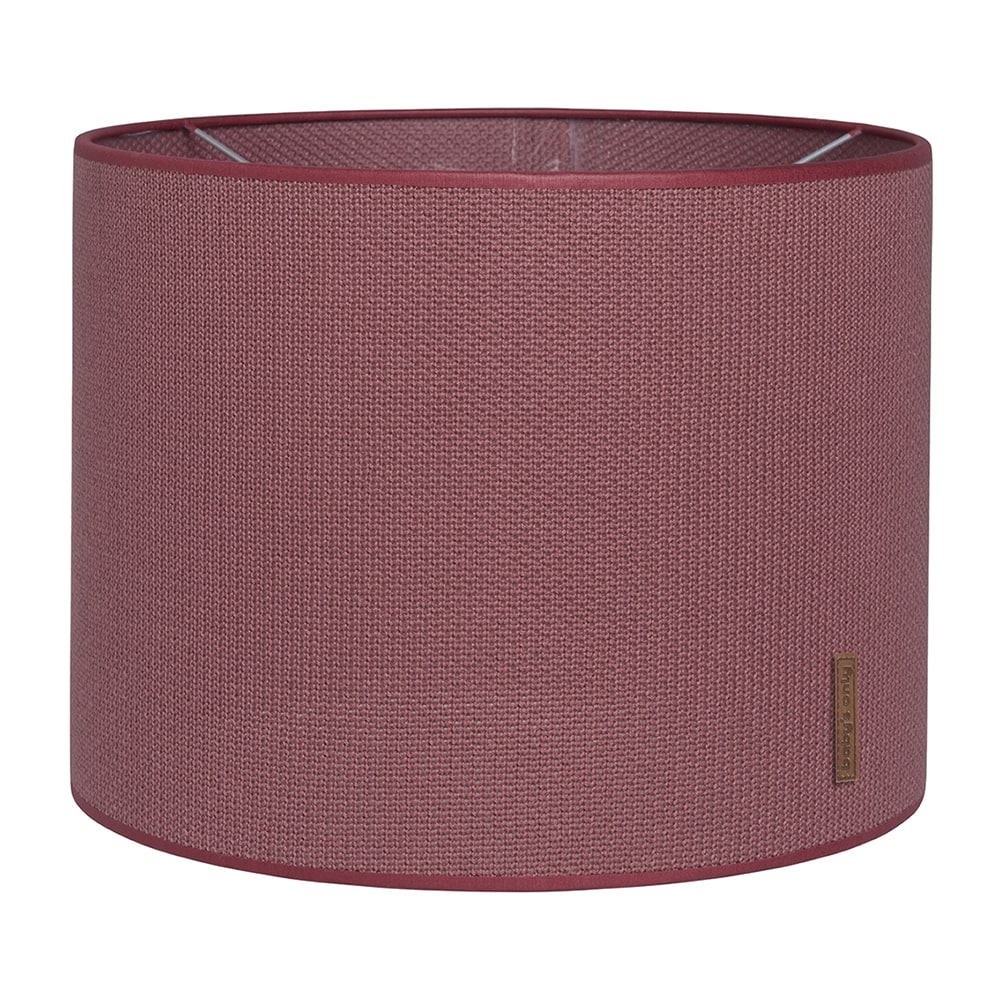 lampshade classic stone red 30 cm