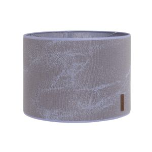 Lampshade Marble cool grey/lilac - Ø30 cm