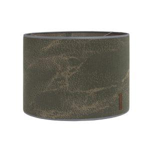 Lampshade Marble khaki/olive - Ø30 cm