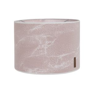 Lampshade Marble old pink/classic pink - Ø30 cm
