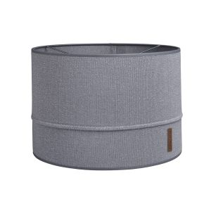 Lampshade Sparkle silver-grey melee - Ø30 cm