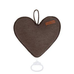 Music box heart Classic cacao