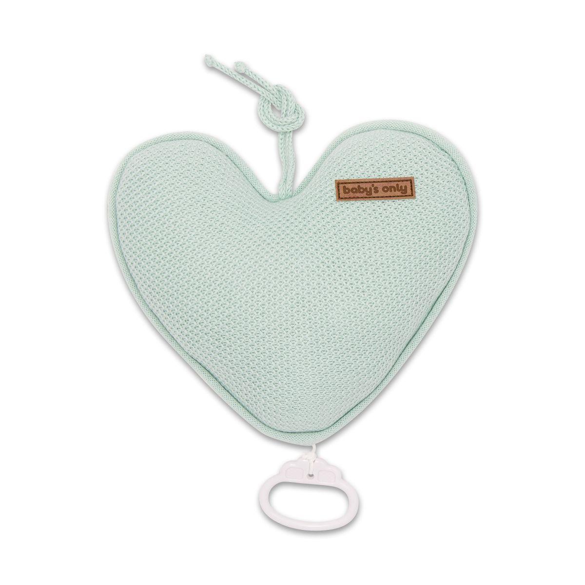 music box heart classic mint