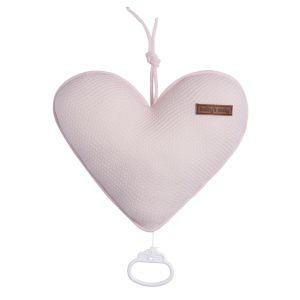 Music box Heart Classic pink