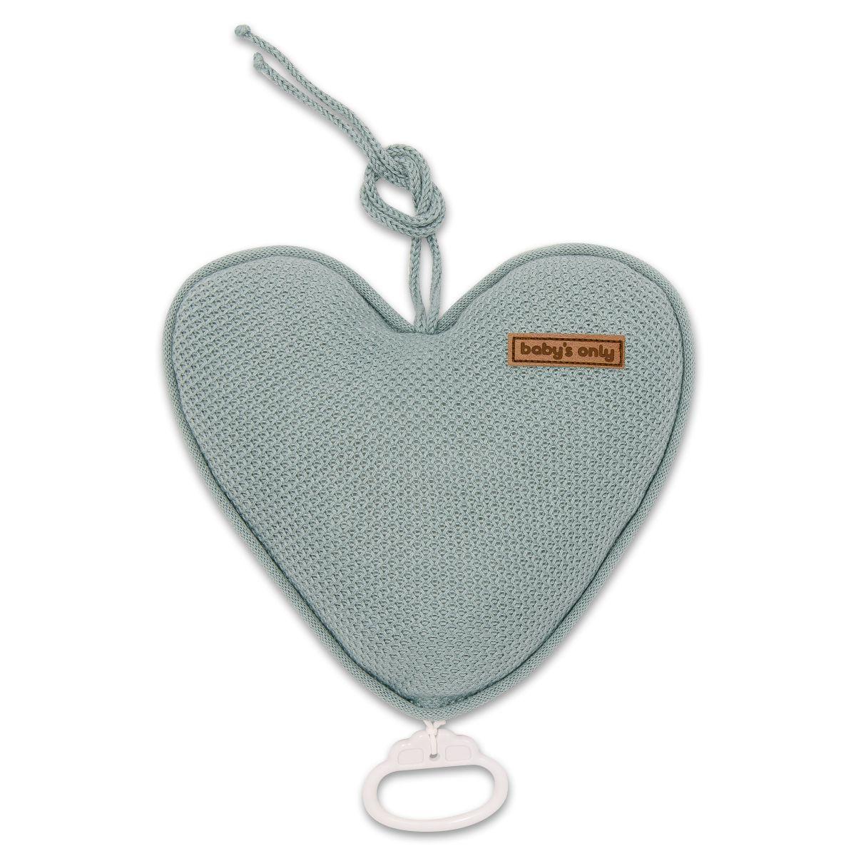music box heart classic stonegreen