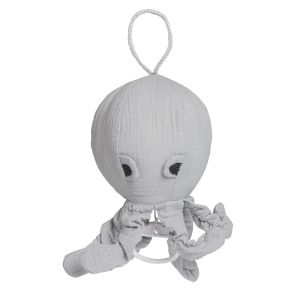 Music box Octopus Breeze grey